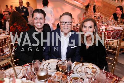 Michael Zingali, Timothy Lowery, Lynda Erkiletian. Photo by Tony Powell. 2018 WB Nutcracker Tea. NMWA. December 9, 2018