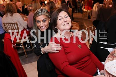 Karen Donatelli and Chafi Kappaz. Photo by Tony Powell. 2018 WB Nutcracker Tea. NMWA. December 9, 2018