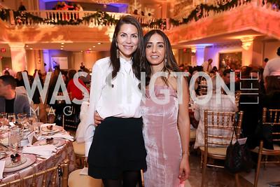 Katelin Haney, Hanane Lemlih. Photo by Tony Powell. 2018 WB Nutcracker Tea. NMWA. December 9, 2018