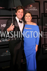 Bryan Chatfield Sanders and Sarah Huckabee Sanders. Photo by Tony Powell. 2018 WHC NBC News MSNBC After Party. OAS. April 28, 2018