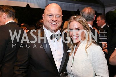 David Urban and Kellie Mooney. Photo by Tony Powell. 2018 WHC NBC News MSNBC After Party. OAS. April 28, 2018