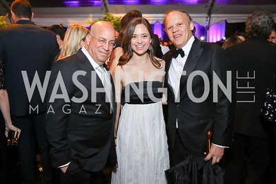 Jeff Zucker, Sally and Mark Ein. Photo by Tony Powell. 2018 WHC NBC News MSNBC After Party. OAS. April 28, 2018