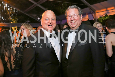 David Urban, David Cohen. Photo by Tony Powell. 2018 WHC NBC News MSNBC After Party. OAS. April 28, 2018