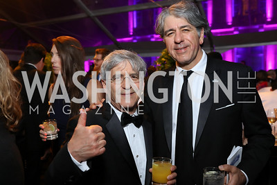 Michael Isikoff, Soroush Richard Shehabi. Photo by Tony Powell. 2018 WHC NBC News MSNBC After Party. OAS. April 28, 2018