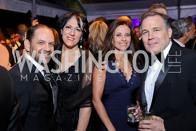 Andrew Morse, Tammy Haddad, Dina Powell, David McCormick. Photo by Tony Powell. 2018 WHC NBC News MSNBC After Party. OAS. April 28, 2018