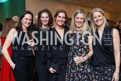 Perry Shure, Darcy Langdon, Mary Ritchey, Catie Meyer, Denise Prince. Photo by Tony Powell. 2018 Washington Winter Show. Katzen Center. January 11, 2018