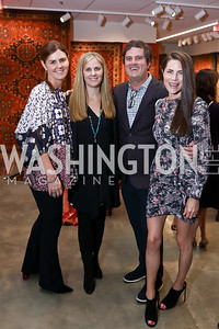 Mae Grennan, Michelle Maddux, Frank and Katelin Haney. Photo by Tony Powell. 2018 Washington Winter Show. Katzen Center. January 11, 2018