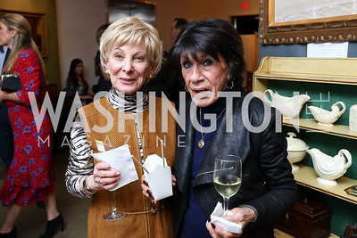 Phyllis Maharam, Nikki Nicodemus. Photo by Tony Powell. 2018 Washington Winter Show. Katzen Center. January 11, 2018