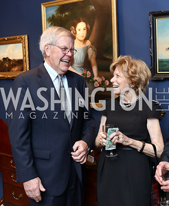 Bob Haneberg, Bitsey Folger. Photo by Tony Powell. 2018 Washington Winter Show. Katzen Center. January 11, 2018