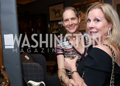 Katie Gewirz, Cynthia Bolton. Photo by Tony Powell. 2018 Washington Winter Show. Katzen Center. January 11, 2018