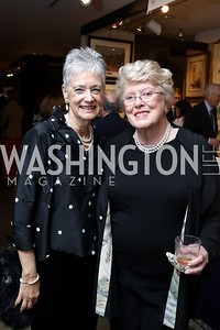 Kate Markert, Ellen Charles. Photo by Tony Powell. 2018 Washington Winter Show. Katzen Center. January 11, 2018