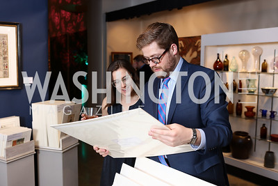 Lindsay Studer, Andrew Goff. Photo by Tony Powell. 2018 Washington Winter Show. Katzen Center. January 11, 2018