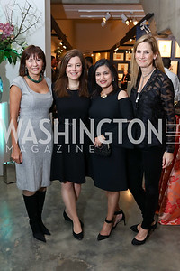Natalia Monteiro, Christina Gungoll Lepore, Christine Terrell, Lesley Duncan. Photo by Tony Powell. 2018 Washington Winter Show. Katzen Center. January 11, 2018