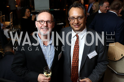 Gideon Malone and Arvind Manocha. Photo by Tony Powell. 2018 Washington Winter Show. Katzen Center. January 11, 2018