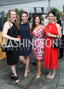Maggie Snipes, Lindsay Walters, Jessica Ditto, Colleen Turner. Photo by Tony Powell. 2018 Welcome Summer Party. Villa Firenze. June 19, 2018