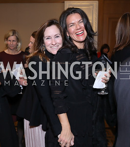 Jenny Gaynor, Stephanie Polis. Photo by Tony Powell. 2018 Wendt Center for Loss and Healing Gala. Four Seasons. November 15, 2018