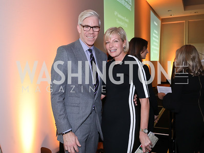 David Gregory, Kacey Pappas. Photo by Tony Powell. 2018 Wendt Center for Loss and Healing Gala. Four Seasons. November 15, 2018