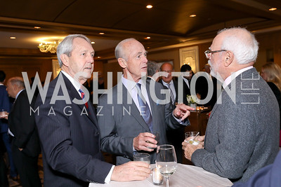 Wayne Rusch, Michael Hanley, David Pensky. Photo by Tony Powell. 2018 Wendt Center for Loss and Healing Gala. Four Seasons. November 15, 2018