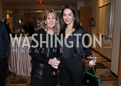 Isabel Ernst, Shelly Galli. Photo by Tony Powell. 2018 Wendt Center for Loss and Healing Gala. Four Seasons. November 15, 2018