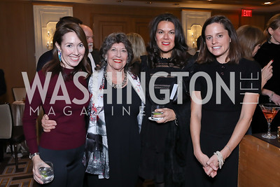 Johanna Howe, Carol Schwartz, Stephanie Polis, Meg Leahy. Photo by Tony Powell. 2018 Wendt Center for Loss and Healing Gala. Four Seasons. November 15, 2018