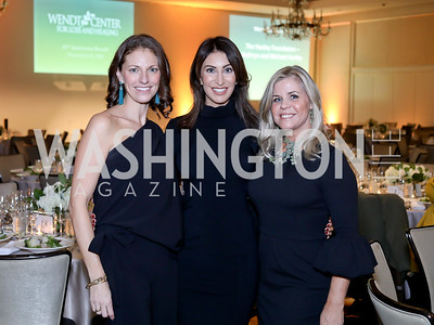 Darcy Langdon, Jennifer Camel-Toueg, Kim Shiff. Photo by Tony Powell. 2018 Wendt Center for Loss and Healing Gala. Four Seasons. November 15, 2018