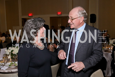Carol Schwartz, Steven Pearlstein. Photo by Tony Powell. 2018 Wendt Center for Loss and Healing Gala. Four Seasons. November 15, 2018