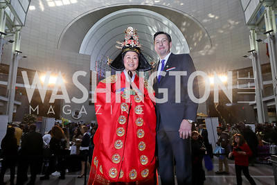 Michelle Misook Won, Andrew Gelfuso. Photo by Tony Powell. 2018 Winternational. Reagan Building, December 6, 2018