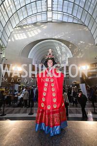 Michelle Misook Won. Photo by Tony Powell. 2018 Winternational. Reagan Building, December 6, 2018
