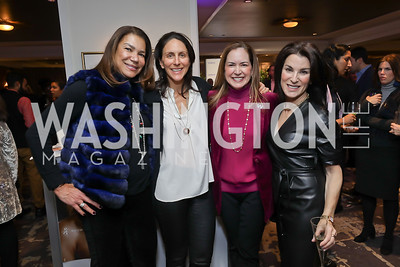 Ann Walker Marchant, Nicole Elkon, Lee Satterfield, Tracy Bernstein. Photo by Tony Powell. 2018 Women Rule Summit. Four Seasons. December 10, 2018