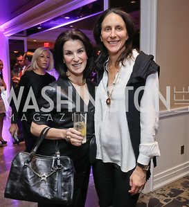 Tracy Bernstein, Nicole Elkon. Photo by Tony Powell. 2018 Women Rule Summit. Four Seasons. December 10, 2018