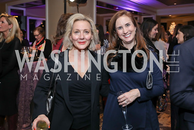 Jackie Nedell, Betsy Fischer Martin. Photo by Tony Powell. 2018 Women Rule Summit. Four Seasons. December 10, 2018