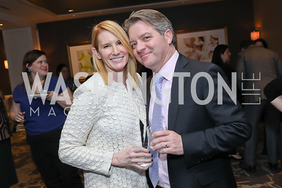Erin Billings and Jay Driscoll. Photo by Tony Powell. 2018 Women Rule Summit. Four Seasons. December 10, 2018