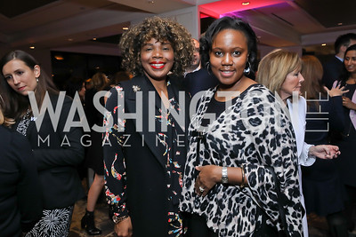 Alethia Jackson, Molly Ryan. Photo by Tony Powell. 2018 Women Rule Summit. Four Seasons. December 10, 2018
