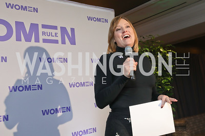 Anna Palmer. Photo by Tony Powell. 2018 Women Rule Summit. Four Seasons. December 10, 2018