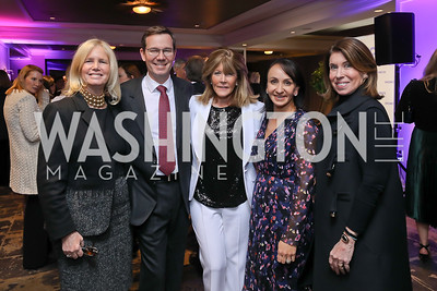 Susan Blumenthal, Robert Allbritton, Ginny Grenham, Elena Allbritton, Lynn Blitzer. Photo by Tony Powell. 2018 Women Rule Summit. Four Seasons. December 10, 2018