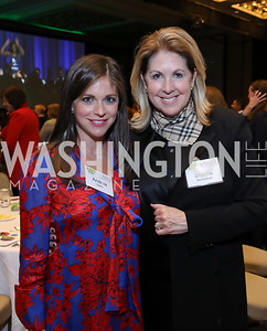 Andrea Dykes, Sherrie Beckstead. Photo by Tony Powell. 2018 Women's Foundation Luncheon. October 30, 2018