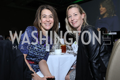 Angie Fox, Ingrid Zimmer. Photo by Tony Powell. 2018 Women's Foundation Luncheon. October 30, 2018