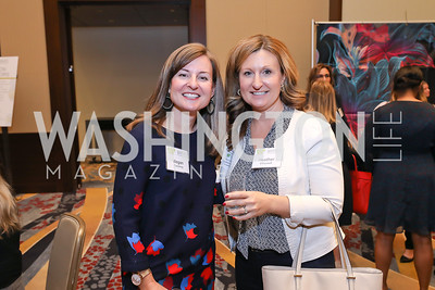 Megan Cumming, Heather O'Connell. Photo by Tony Powell. 2018 Women's Foundation Luncheon. October 30, 2018