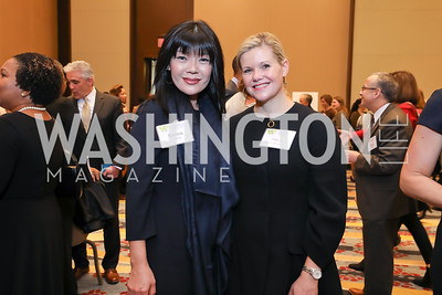 Bonnie Chang, Trina Sams-Manning. Photo by Tony Powell. 2018 Women's Foundation Luncheon. October 30, 2018