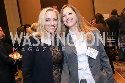 Karen Wawrzaszek, Lisa Manckhoff. Photo by Tony Powell. 2018 Women's Foundation Luncheon. October 30, 2018