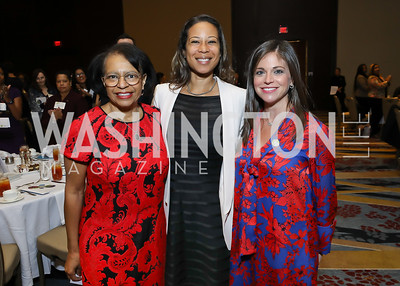 Luncheon Co-Chairs Deb Gandy, Andrea Dykes and Rhonda Henderson. Photo by Tony Powell. 2018 Women's Foundation Luncheon. October 30, 2018
