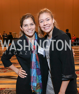 Caroline Potolicchio, Molly Flores. Photo by Tony Powell. 2018 Women's Foundation Luncheon. October 30, 2018