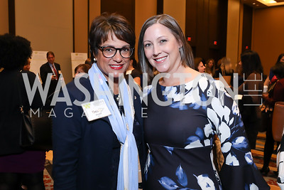 Debbi Jarvis, Women's Foundation President and CEO Jennifer Lockwood-Shabat. Photo by Tony Powell. 2018 Women's Foundation Luncheon. October 30, 2018