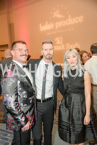 Wesley Della Volla, Cale Charney, Amy Vong,  The 36th Annual RAMMY Awards, Washington Convention Center, June 10th, 2018.  Photo by Ben Droz.