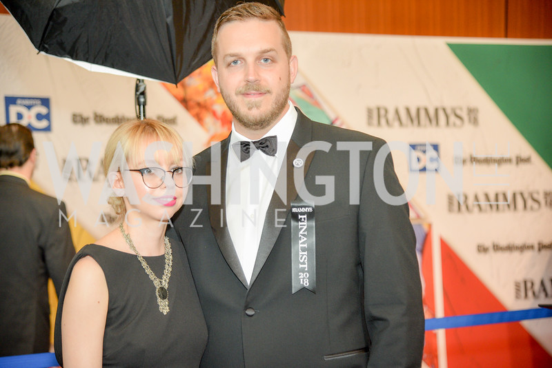 Kelly Phillips, Josh Phillips, Espita,  The 36th Annual RAMMY Awards, Washington Convention Center, June 10th, 2018.  Photo by Ben Droz.