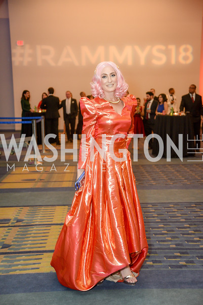 DJ Neekola,  The 36th Annual RAMMY Awards, Washington Convention Center, June 10th, 2018.  Photo by Ben Droz.