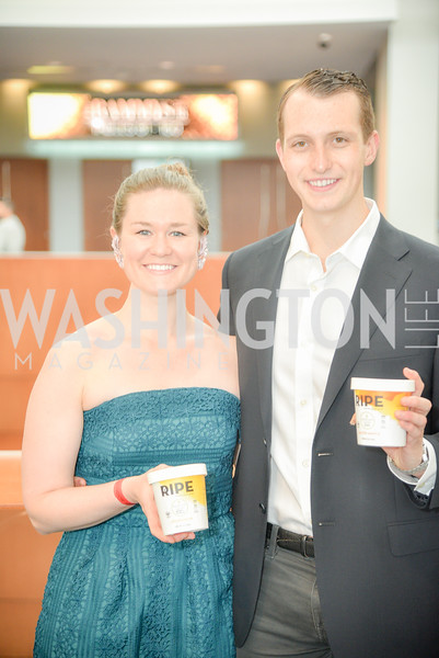 Daria Mosman, Bennett Reck, The 36th Annual RAMMY Awards, Washington Convention Center, June 10th, 2018.  Photo by Ben Droz.