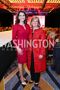 "Women's Board Vice-Chair Mimi Lawless, Women's Board Chair Kristin Bonacci. Photo by Tony Powell. 2018 ""An Affair of the Heart."" Marriott Marquis. February 6, 2018"
