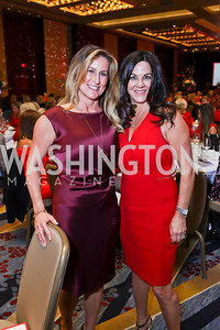 "Deborah Ourisman, Amy Micholas. Photo by Tony Powell. 2018 ""An Affair of the Heart."" Marriott Marquis. February 6, 2018"