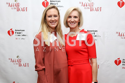 "Jane Black, Luncheon Co-Chair Melanie Colton. Photo by Tony Powell. 2018 ""An Affair of the Heart."" Marriott Marquis. February 6, 2018"